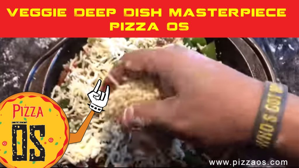 Veggie Deep Dish Masterpiece Pizza OS